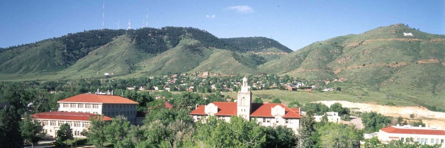Colorado School of Mines Campus in Golden, Colorado